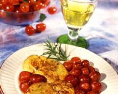 Recette escalopes de foie gras aux cerises