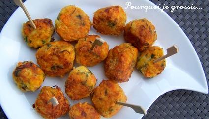 Recette de bouchées saveur carottes, pommes de terre & comté