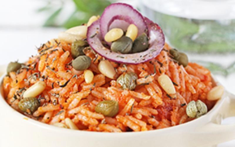 Recette riz sauce tomate/poivron/mozza pas chère et facile ...