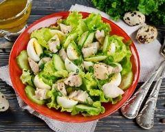 Recette salade au cabillaud