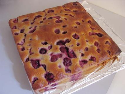 Recette de gâteau moelleux aux framboises