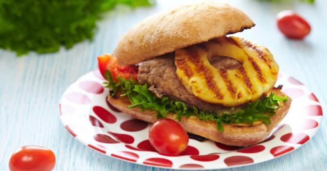 Recette de sandwich chaud minceur à l'ananas anti-cellulite