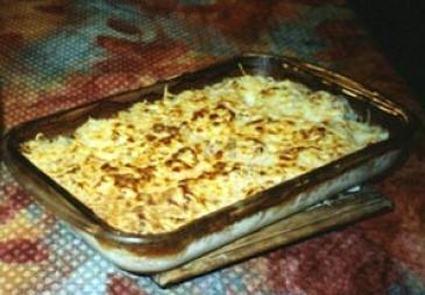 Recette de gratin de fromage et de jambon