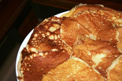 Recette de pancake au lait fermenté
