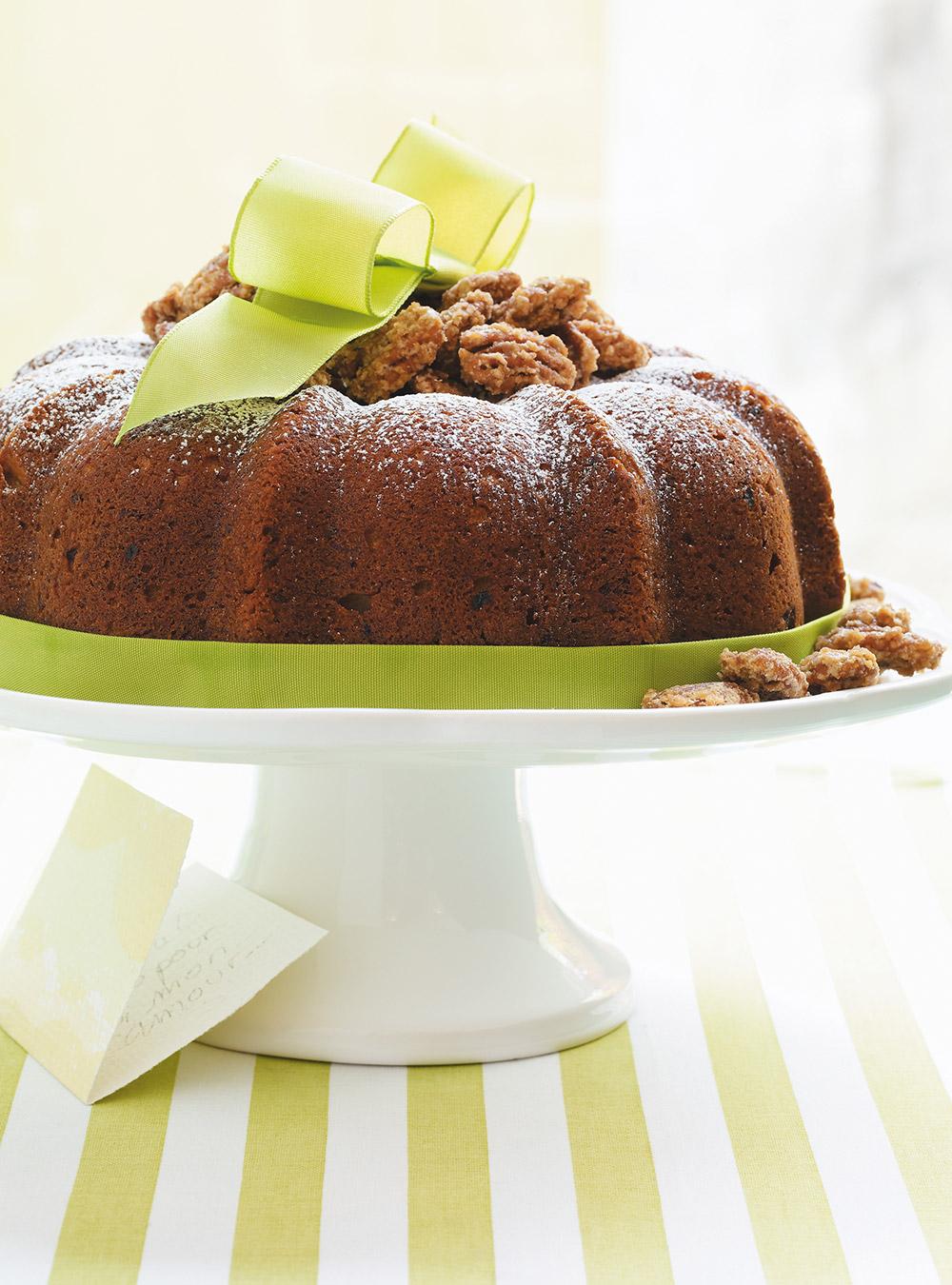 Gâteau «bundt» à la banane et à la cardamome | ricardo