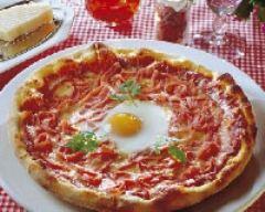 Recette pizza capri