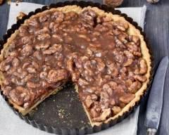 Recette tarte noix-chocolat