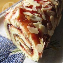 Recette gâteau roulé à la confiture et aux amandes – toutes les ...