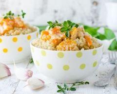 Recette curry de quinoa au lait de coco