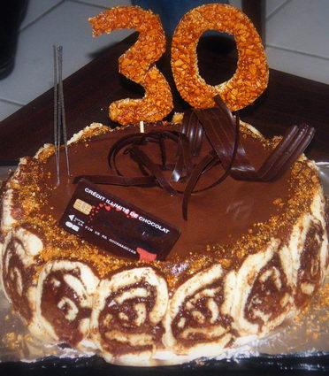 Recette de gâteau fou d'anniversaire au chocolat