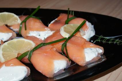 Recette de saumon fumé au crottin de chavignol