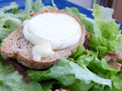 Recette salade au chèvre chaud (salade sud-ouest)