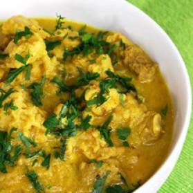 Hauts de cuisse de poulet aux oignons et au gingembre pour 1 ...