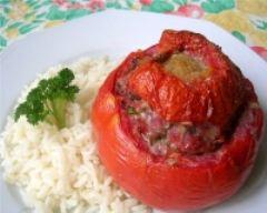 Recette tomates farcies au veau