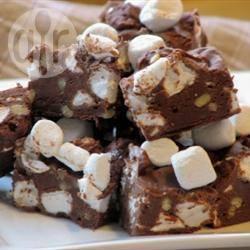 Recette barres chocolatées fudge et marshmallows – toutes les ...