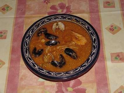 Recette de soupe de poisson