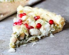 Recette tarte aux épinards et au poisson