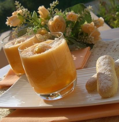 Recette de verrine de melon à la noix de coco