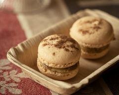Recette macarons cannelle et foie gras