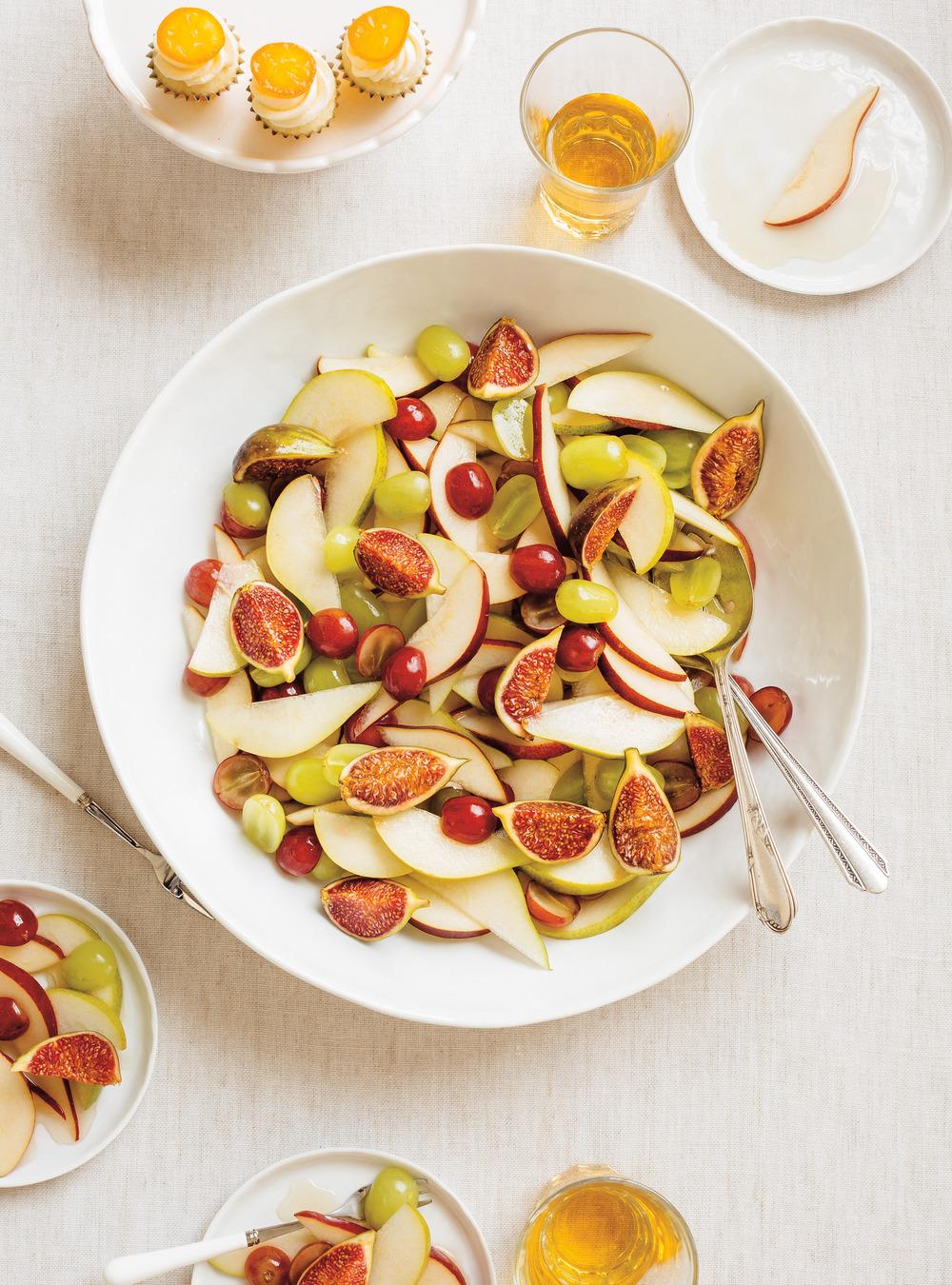 Salade de poires et de raisins | ricardo
