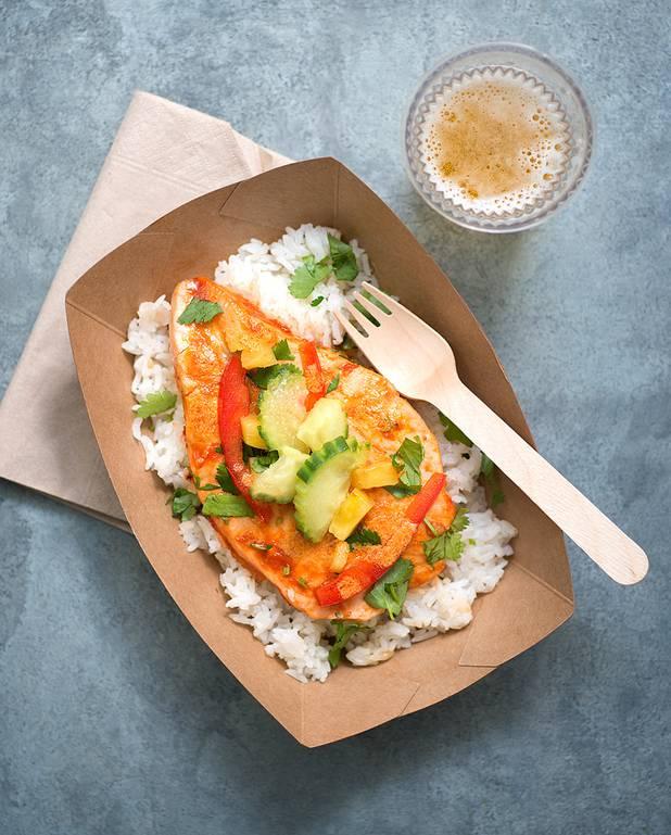 Recette de saumon grill et asperges vertes la sauce hollandaise recette - Sauce pour saumon grille barbecue ...