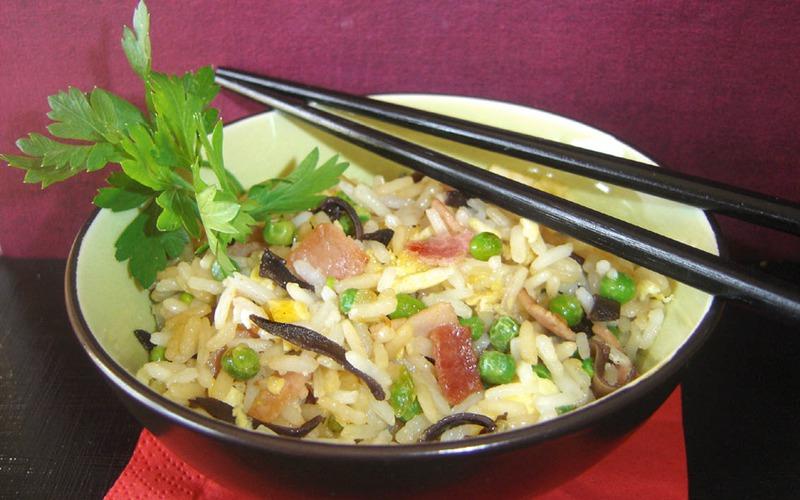Recette riz cantonais pas chère et simple > cuisine étudiant