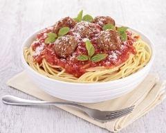 Recette spaghettis à la bolognaise express