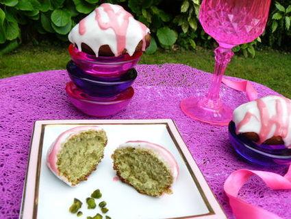 Recette de madeleines girly à la pistache