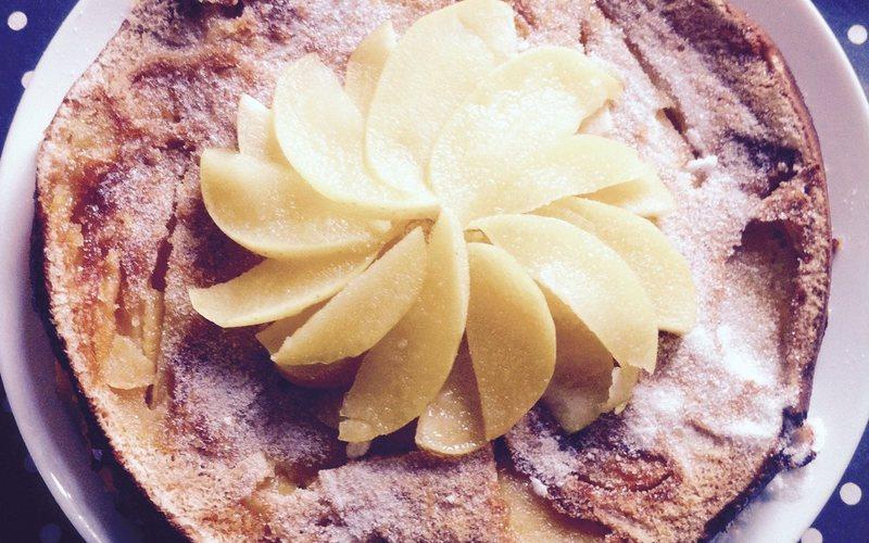 Recette gateau aux pommes léger économique > cuisine étudiant