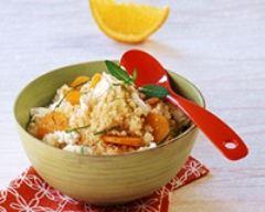 Recette semoule aux carottes