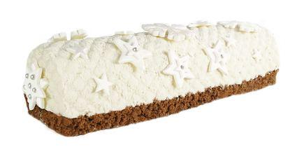 Recette de bûche de noël chocolat blanc, spéculoos, coco