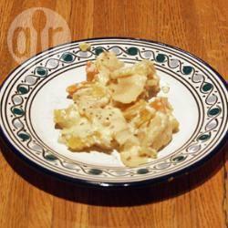 Recette gratin de potiron aux pommes et gorgonzola – toutes les ...