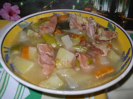 Recette de soupe paysanne