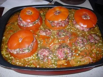 Recette de tomates farcies classiques
