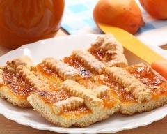 Recette tarte à la confiture d'abricots
