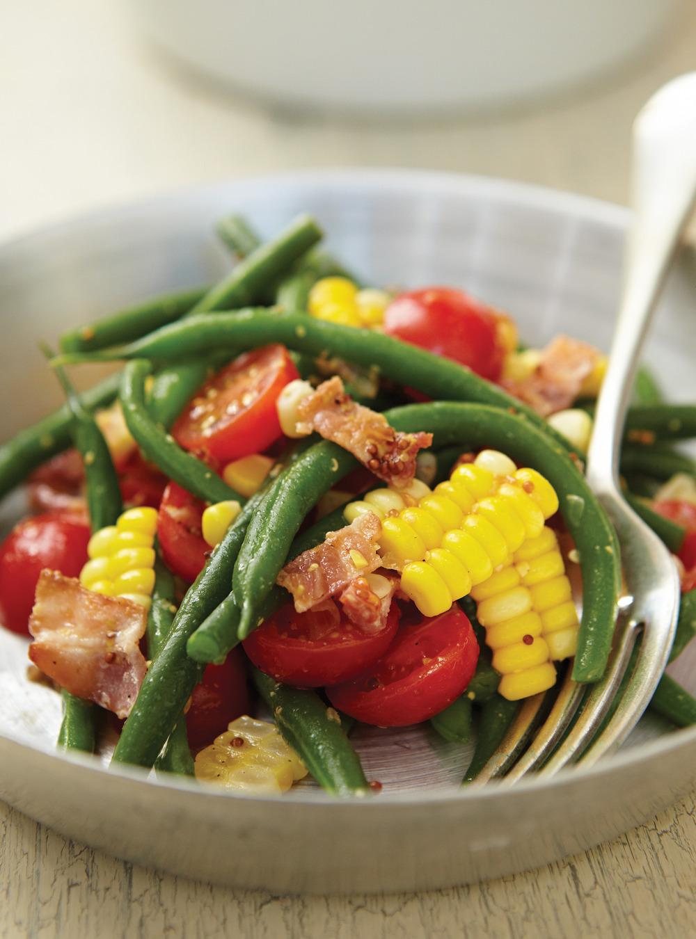 Salade de haricots verts et de maïs | ricardo