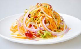 Salade de riz aux germes de soja épicés pour 4 personnes ...
