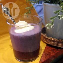 Recette verrines de mousse à la myrtille – toutes les recettes ...