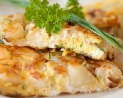 Recette omelette au rocamadour