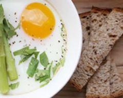 Recette œufs cocotte aux asperges