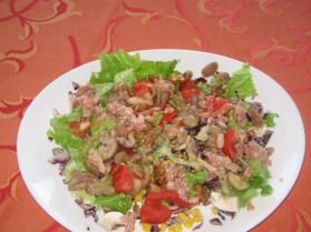 Salade aux marrons et aux noix pour 4 personnes