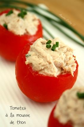 Recette de tomates cocktail farcies à la mousse de thon