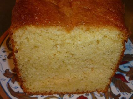 Recette de cake au citron pas cher
