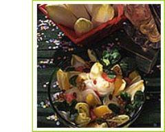 Recette salade d'endives en carnaval