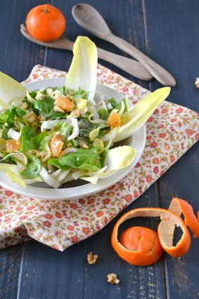 Recette de salade d'endives à la clémentine