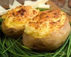 Recette pommes de terre soufflées au munster