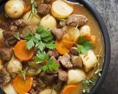 Recette ragoût d'agneau aux légumes