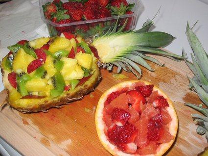 Recette de salade de fruits exotiques originale