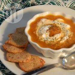 Recette velouté de carottes à l'aneth – toutes les recettes allrecipes