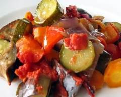 Recette fournée de légumes pauvre en sel